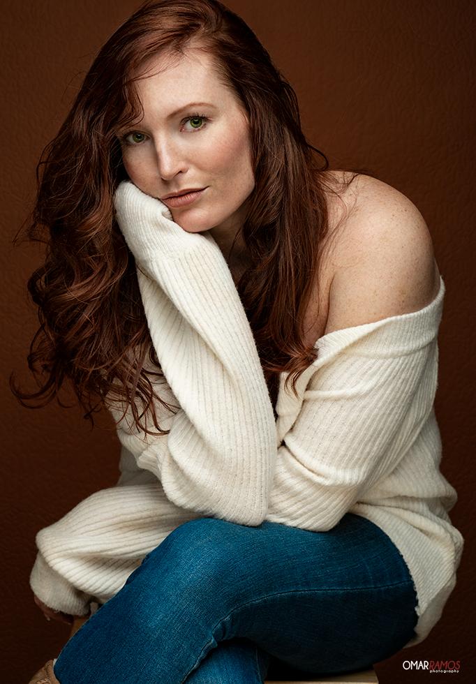 Model - Actress Rebecca Sheets