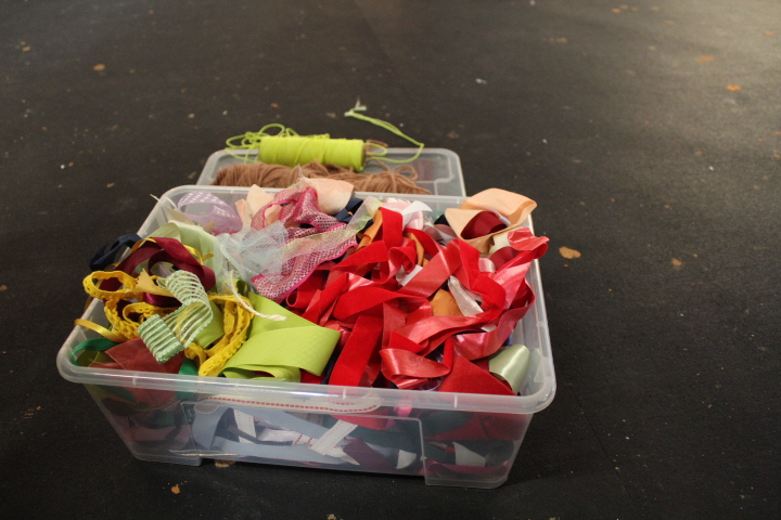 Ribbons are loose parts waiting to be used.