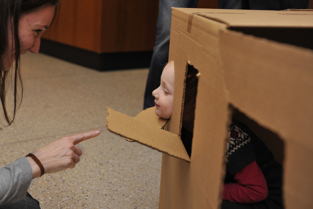 So clearly Not a Box, in this case. And so wonderful to see beautiful parent/child connections happening through play.