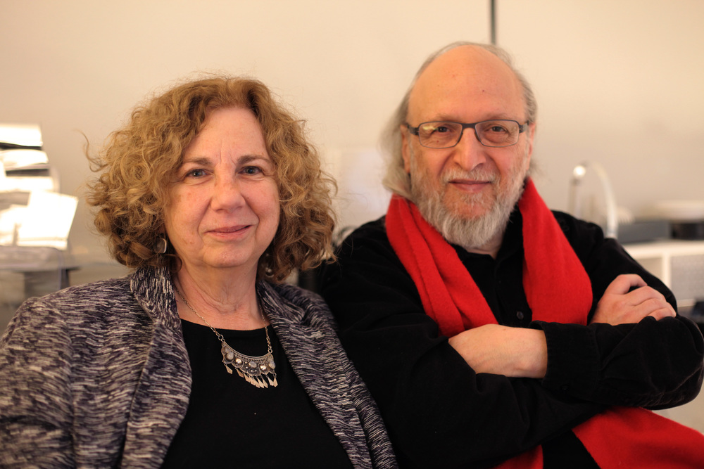 NYC-based Early childhood consultant Renee Dinnerstein and her husband, artist Simon Dinnerstein.