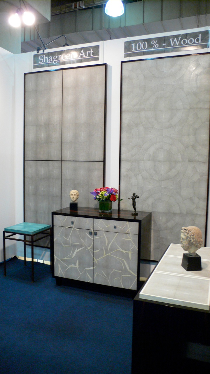 Shagreen Art Booth at ICFF 2009