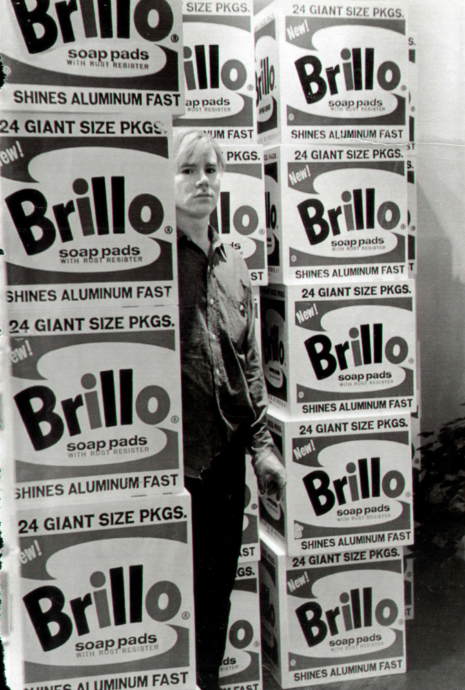 Warhol - Brilol Boxes Fred W McDarrah/Getty Images