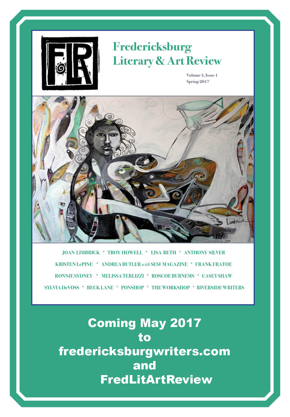 Fredericksburg Literary & Art Review - Volume 5, Issue 1, 2017