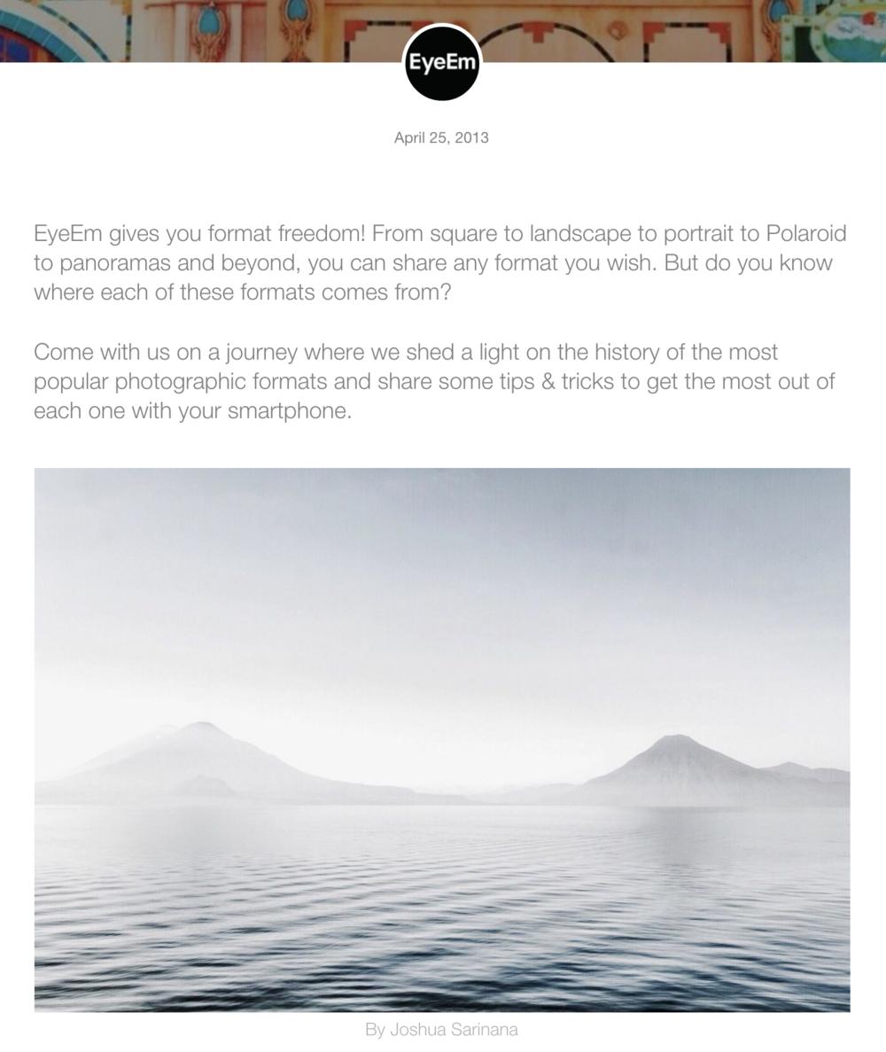 EyeEm App -