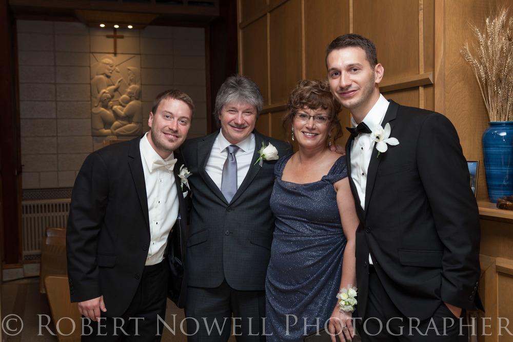 Family wedding Niagara