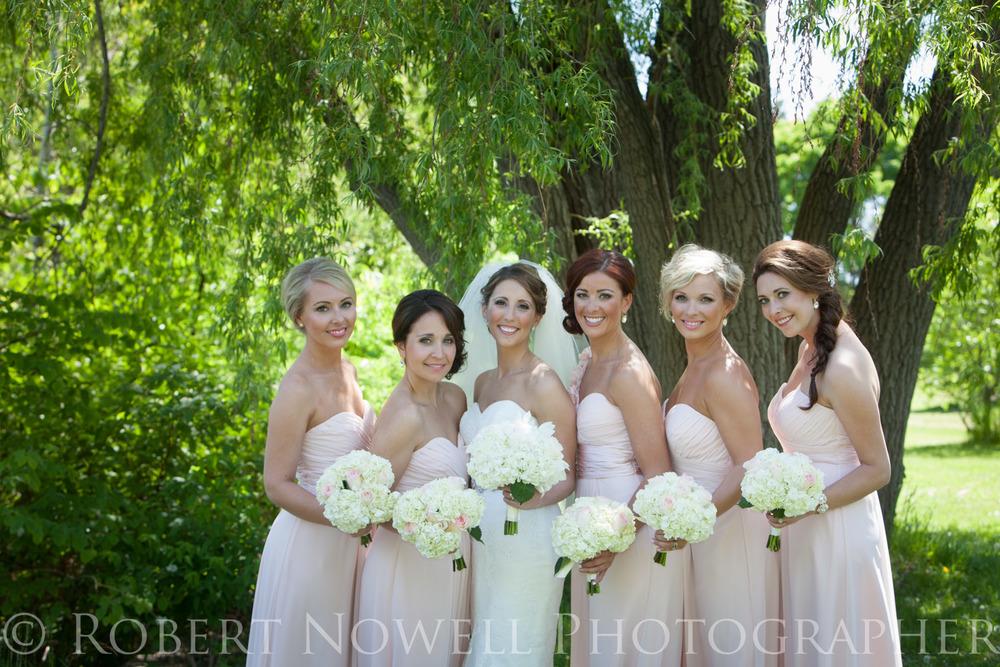 gorgeous wedding girls