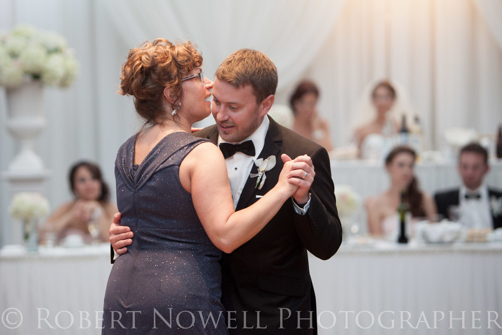 mother son dance wedding reception Niagara