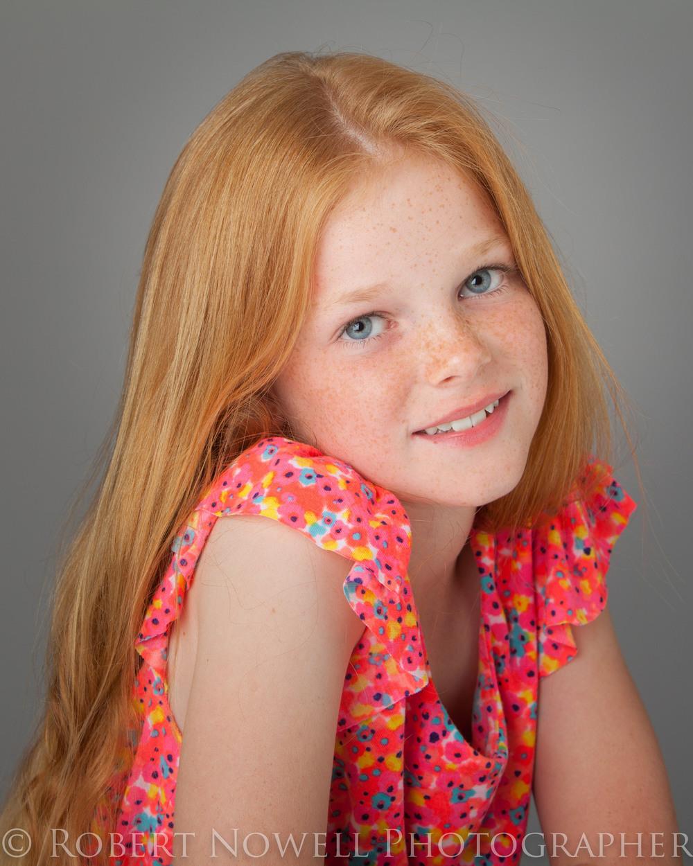 Img: Akira Child Model, Headshots