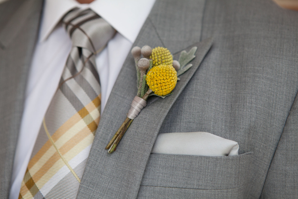beautiful boutonniere by Marsha Howe