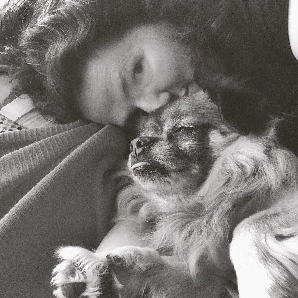 My dog, my heart