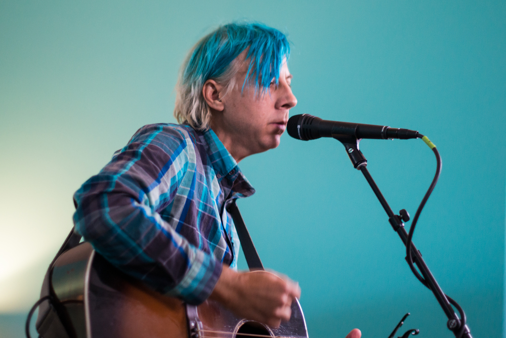 The legendary John Vanderslice played a rare intimate performance