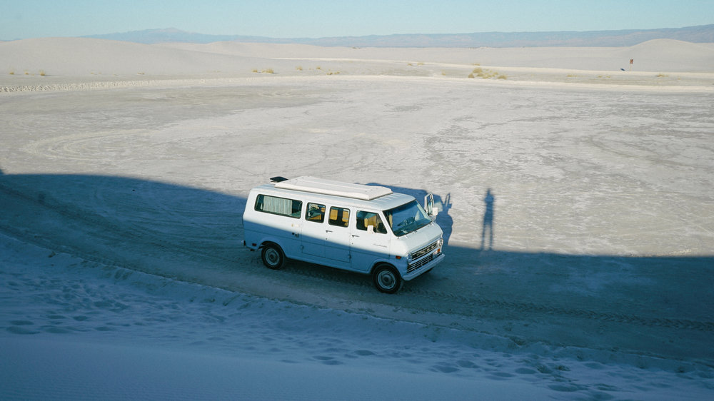 Me filming timelapse shadows White Sands National Park for Last Exit to Elsewhere.jpg
