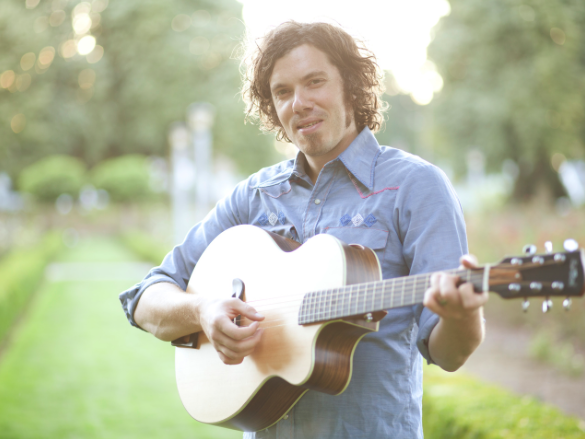 Josh Garrels     White Eagle Hall   Thursday - April 26th 2018
