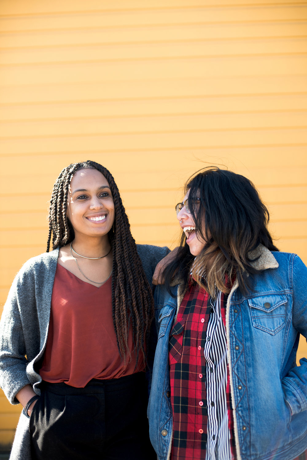 Creative Music Coordinators, Jené Etheridge and Diana Suarez — photography by    Kale Chesney