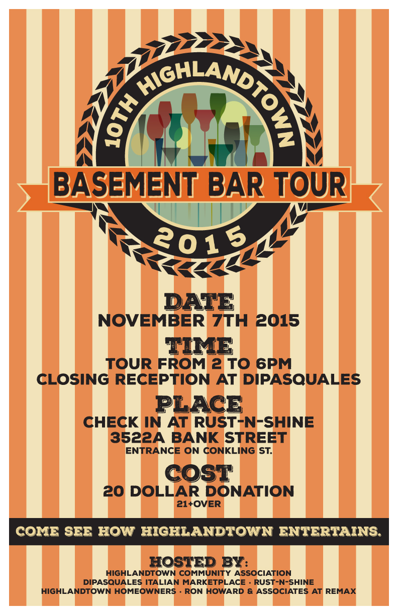 Basement Bar Tour 2015