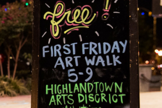 First Friday Artwalk Sign w-2 walking (6).png