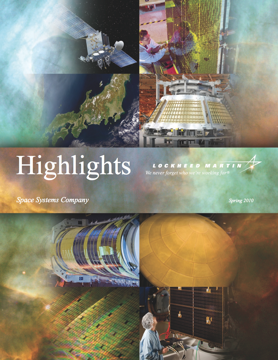 2010 edition of the annual publications called Highlights.