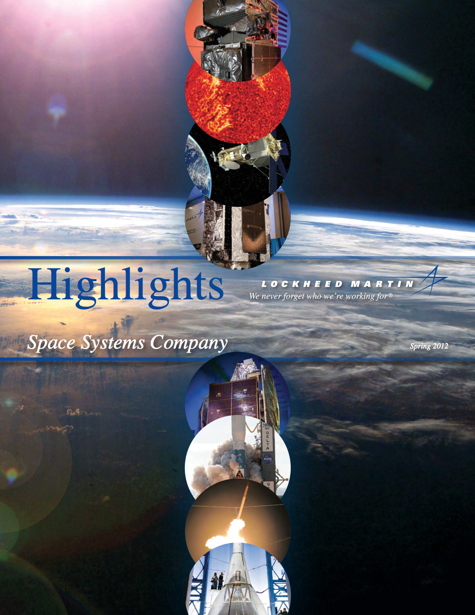 2012 edition of the annual publications called Highlights.