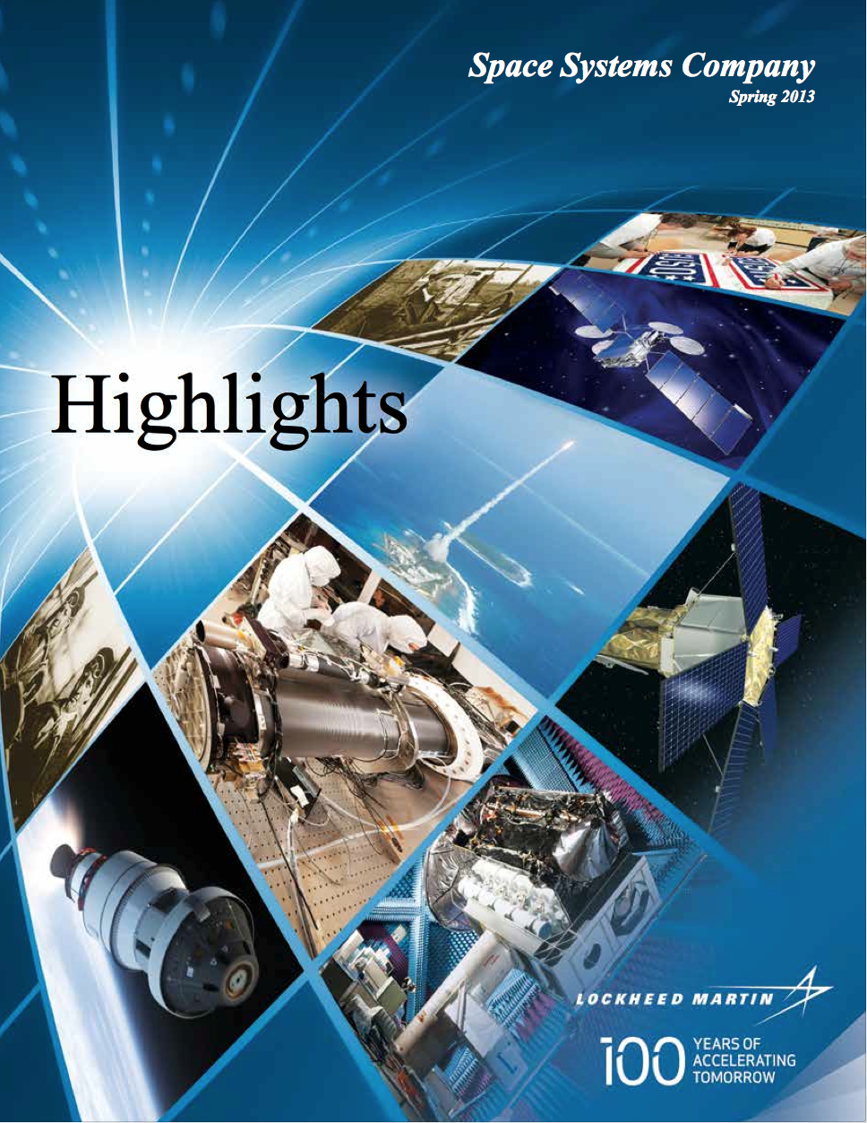 2013 edition of the annual publications called Highlights.