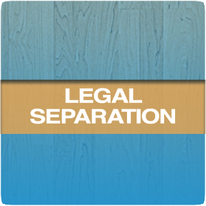 legal separation icon