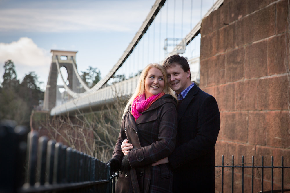 Natural Pre Wedding Photography in Bristol