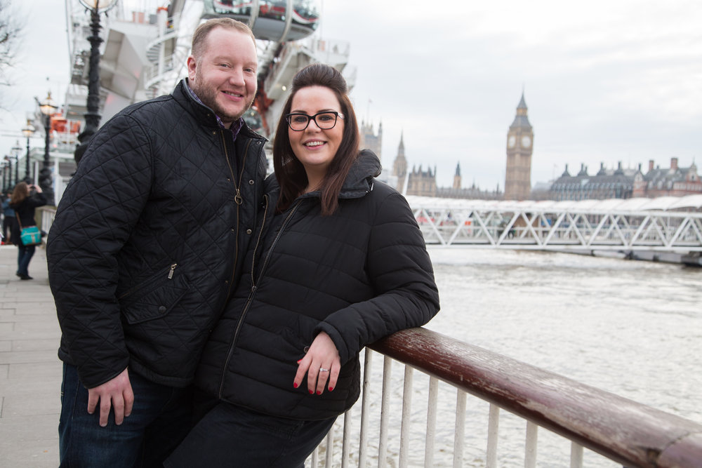 Pre Wedding Professional Photography at Big Ben, South Bank London