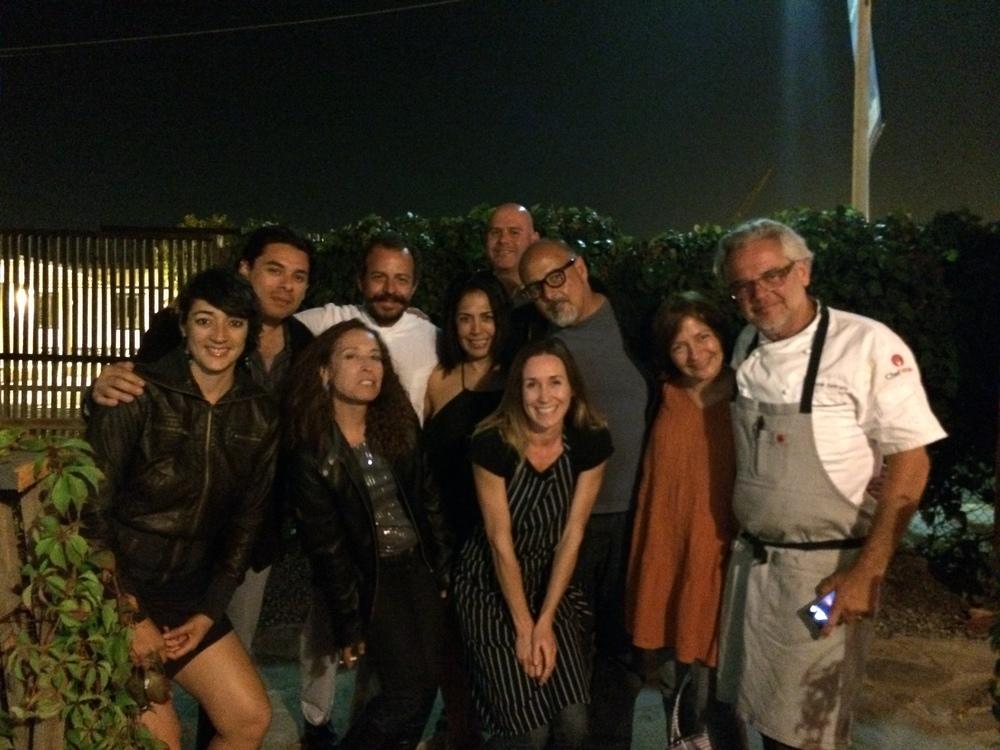 Chef Flor Franco. Chef Benito Molina. Chef Andrew Spurgin. Fernando Gaxiola. Architect Alejandro de'Acosta. (me: inspired).