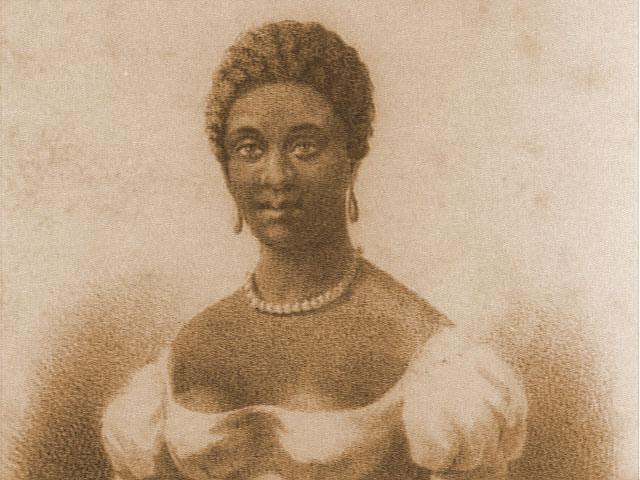 Portrait of Phillis Wheatley