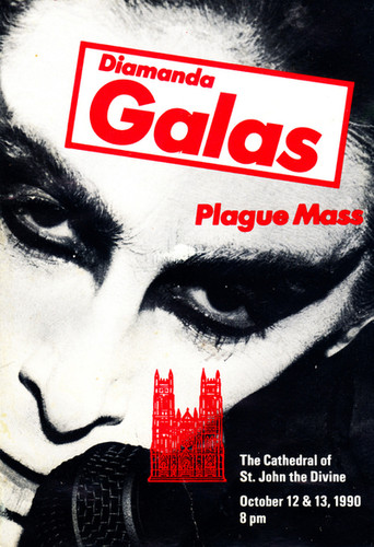 Diamanda Galás: Plague Mass, Promotion Card
