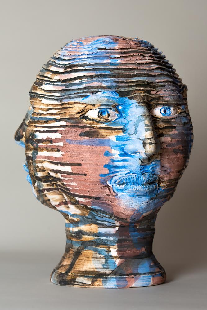 Vishnu, Ceramic Mask