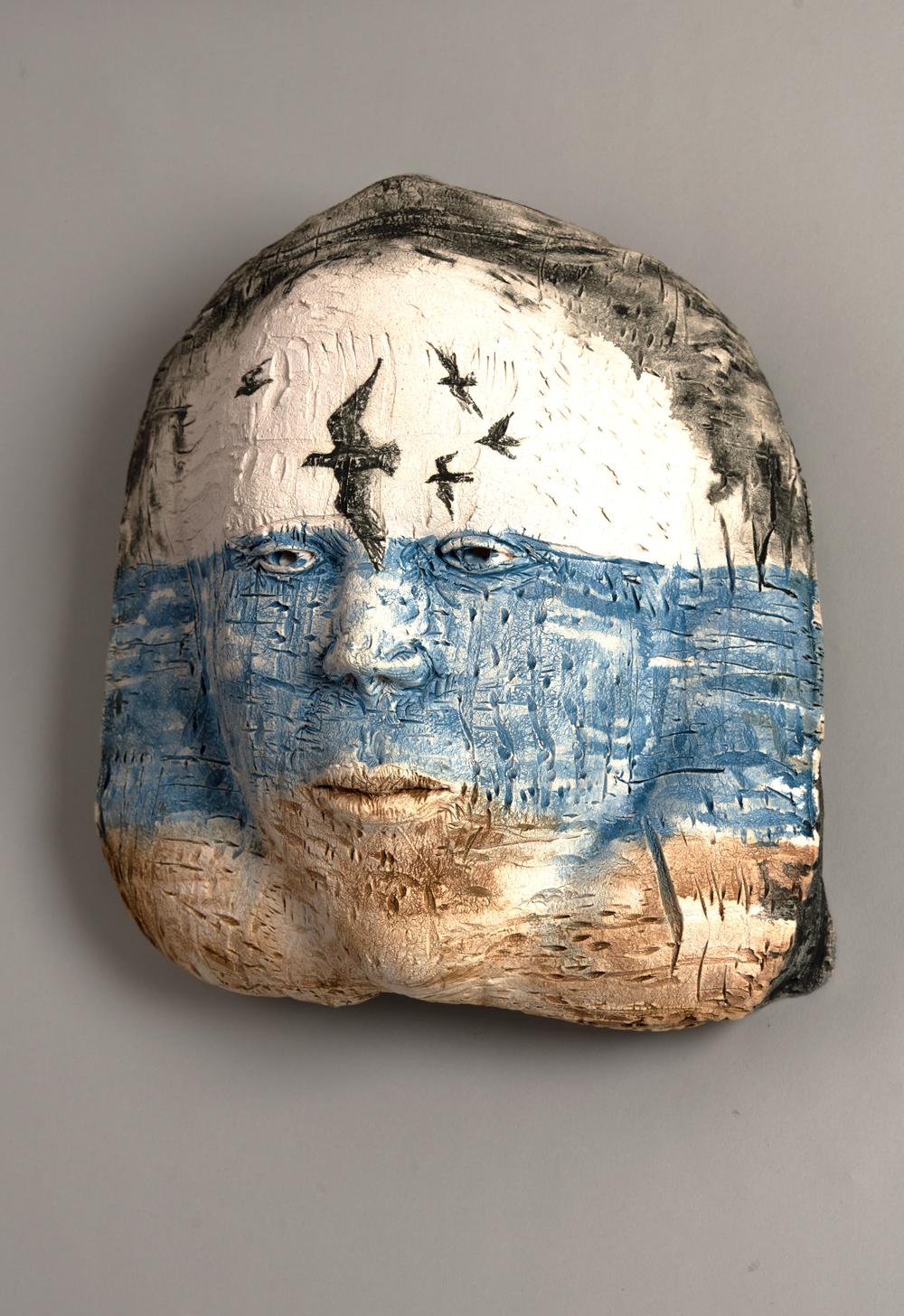 Fluidity, Ceramic Mask