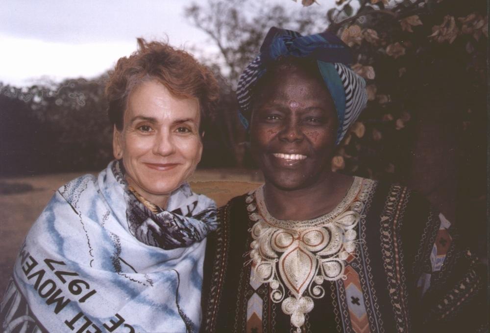 Frances and Wangari