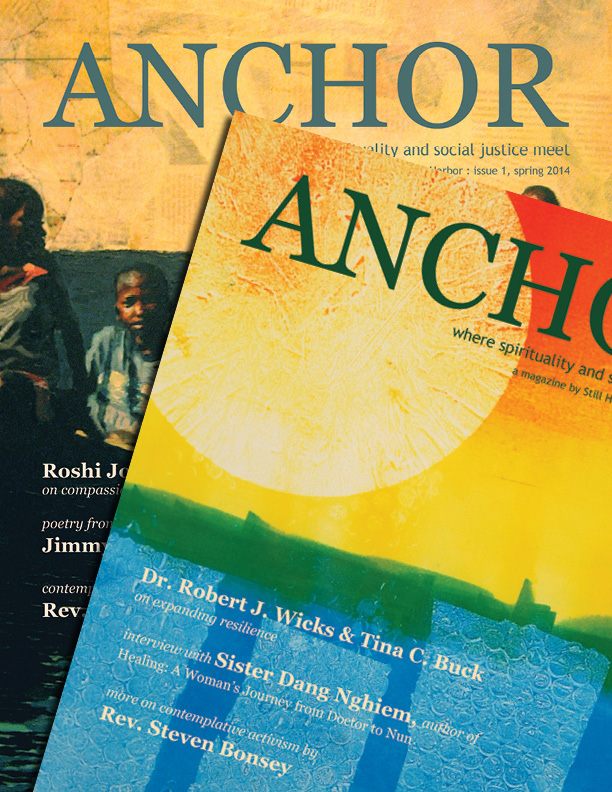 Subscribe to get future print issues of Anchor in your mailbox... - Make a minimum annual donation of $35, and you'll receive two issues of Anchor a year as our thank you. Choose your annual giving level:              ($35) Reader  -  click here to subscribe            ($75) Supporter -  click here to subscribe            ($150) Sponsor -  click here to subscribe            ($250) Benefactor  -  click here to subscribe
