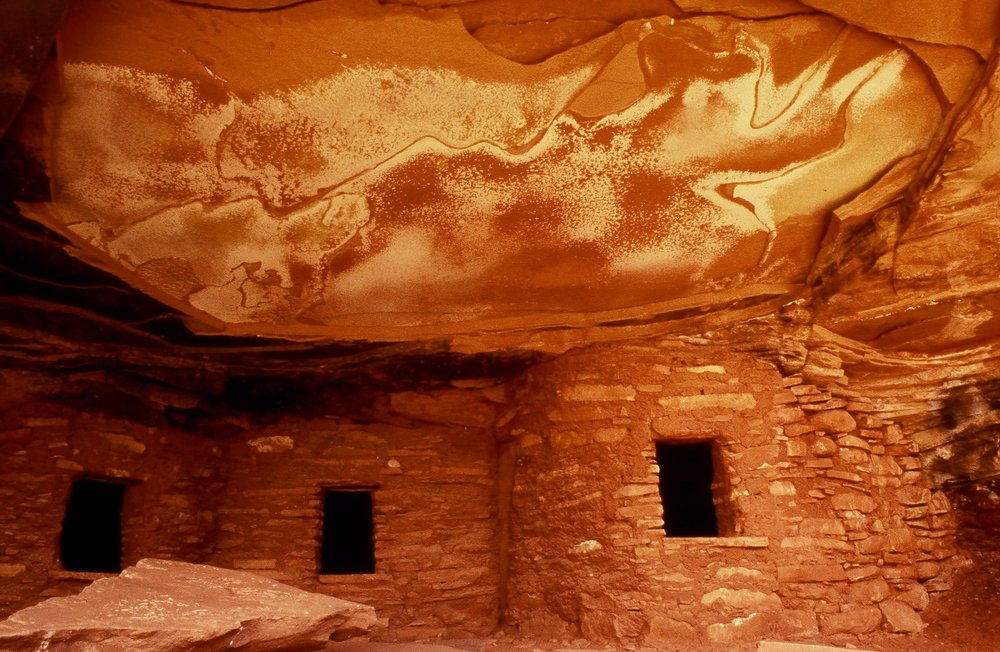 Salt Stained Ruin   | Bears Ears National Monument