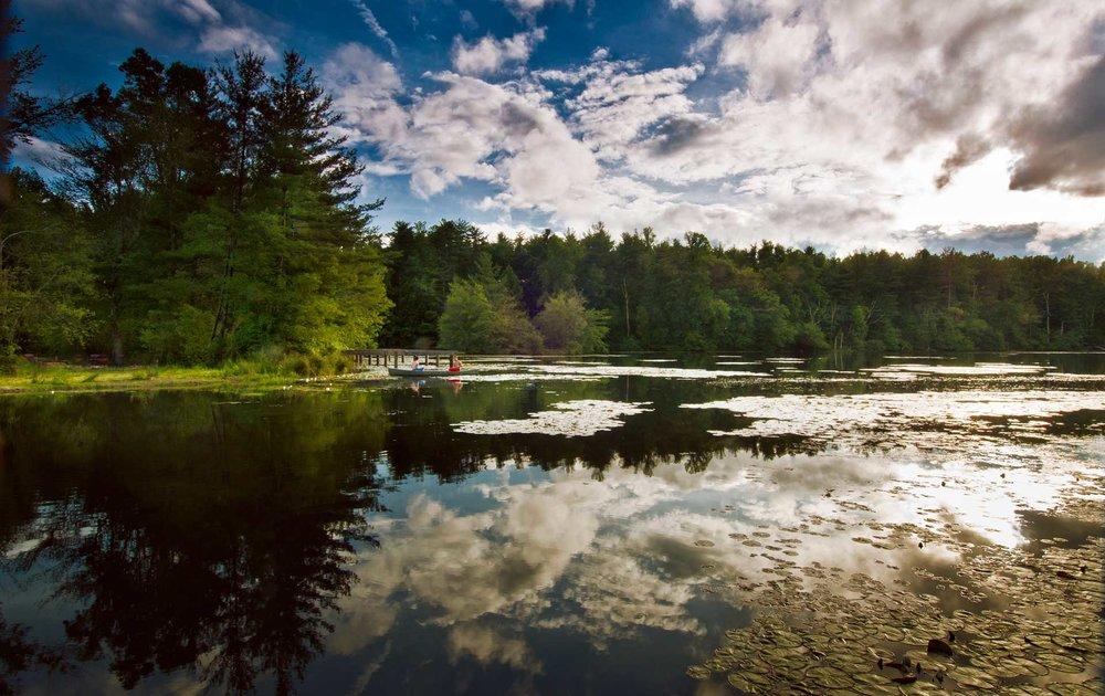 Canoeing on Highland Lake , Photograph courtesy of Jana Amsellem
