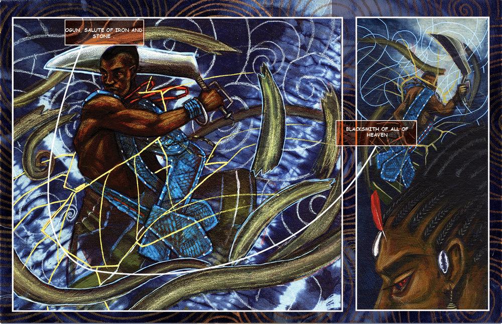 Ogun Sango  by Stephen Hamilton