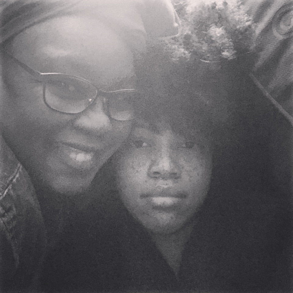 Monique, and her daughter, Yaminah.