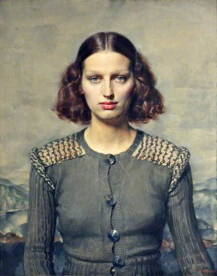 Jeunesse doré  , 1934  by Gerald Leslie Brockhurst (1890 - 1978)  Collection: National Museum Liverpool  ©Richard Woodward