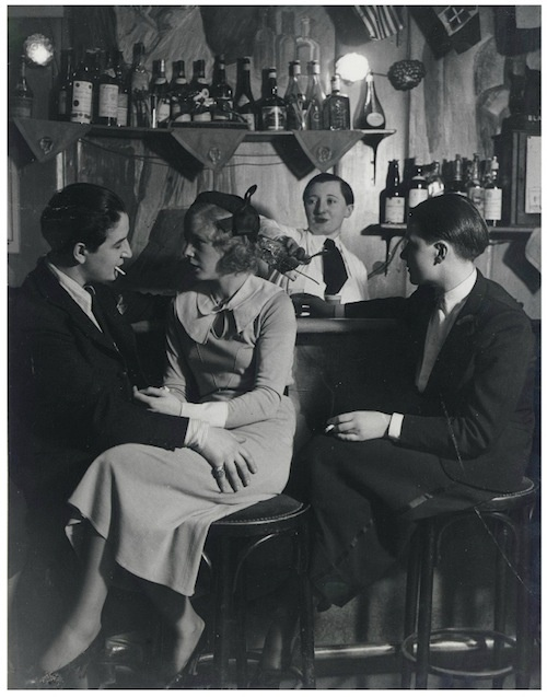 At the 'Monocle': the proprietress Lulu de Montparnasse (left) with another woman, c. 1932