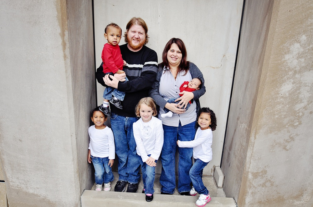 Amanda and Jacob's beautiful family photo! These are families we need to hear from on these racially-charged issues.