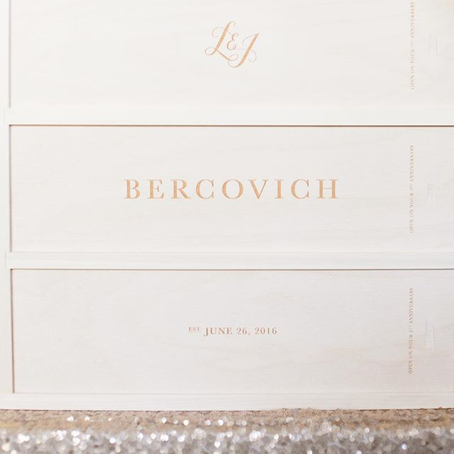 Cheers to two years with you @justberco #anniversarywinebox printed by @artificerwoodworks 📷 by @nicholsphoto