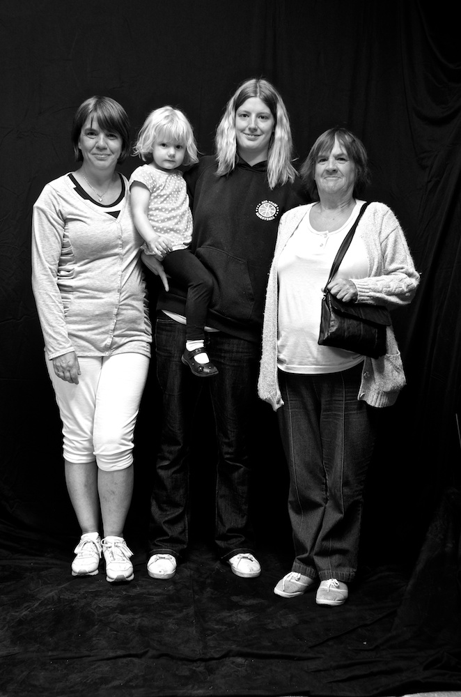 Dawn, Madison, Sharon and Cicerly