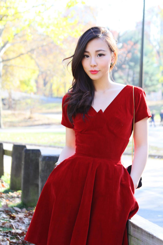 Red Dress Vintage
