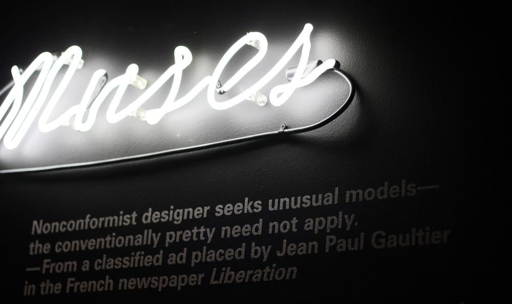 Gaultier and model.JPG