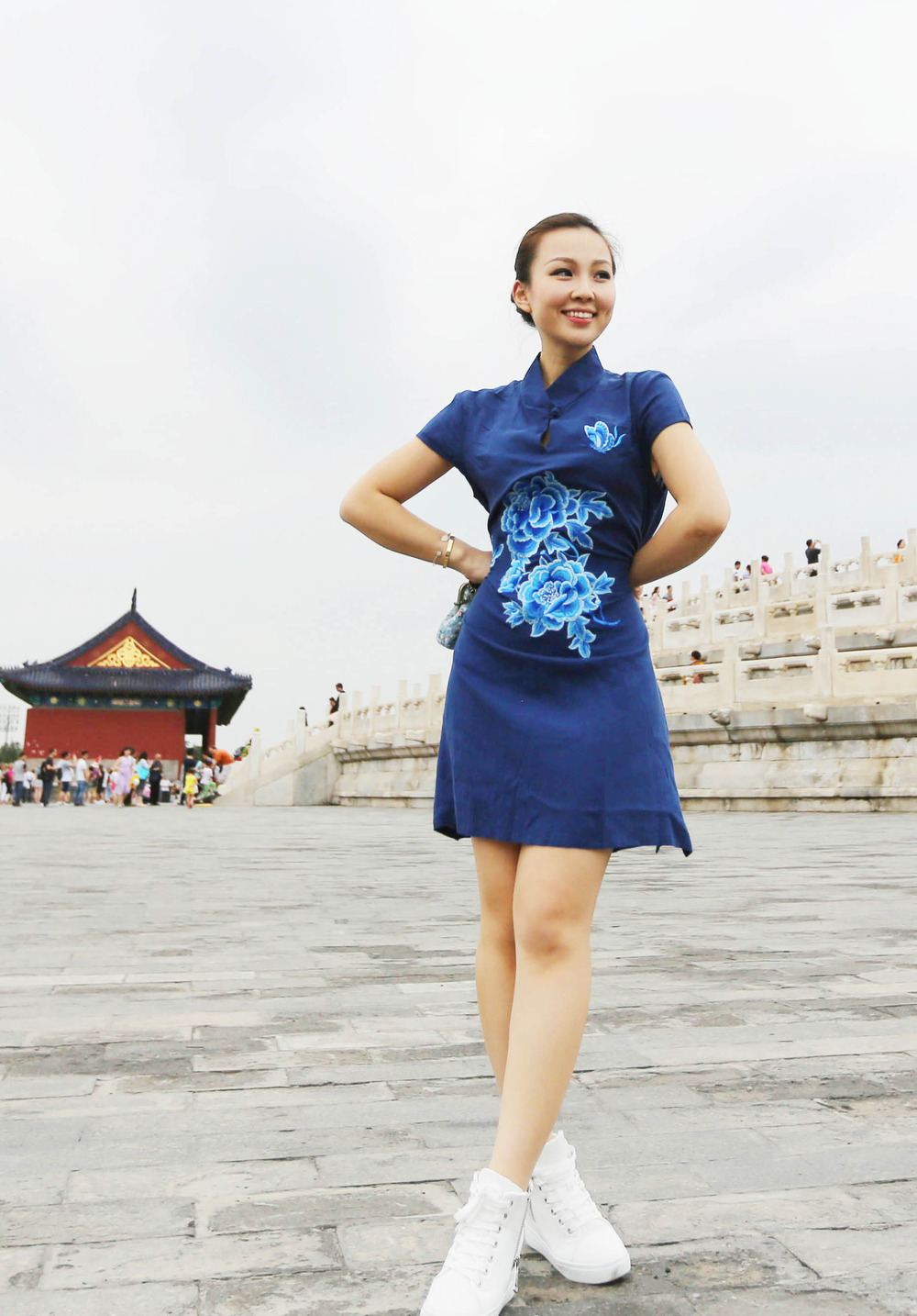 Travel in Beijing:TianTan style2.JPG