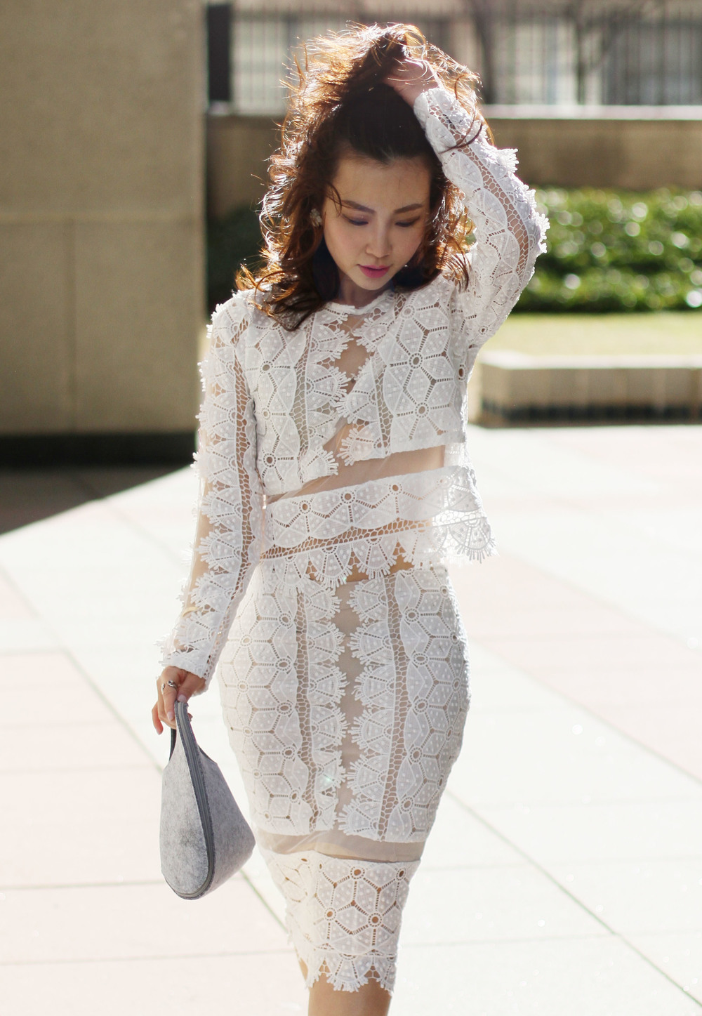 elegant white lace top and skirt.jpg