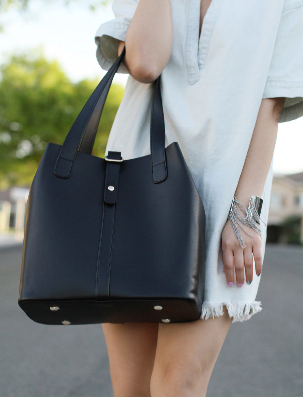 Ms littles bag black leather tote4.jpg