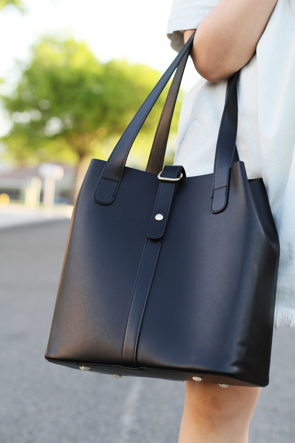 Ms littles bag black leather tote7.jpg
