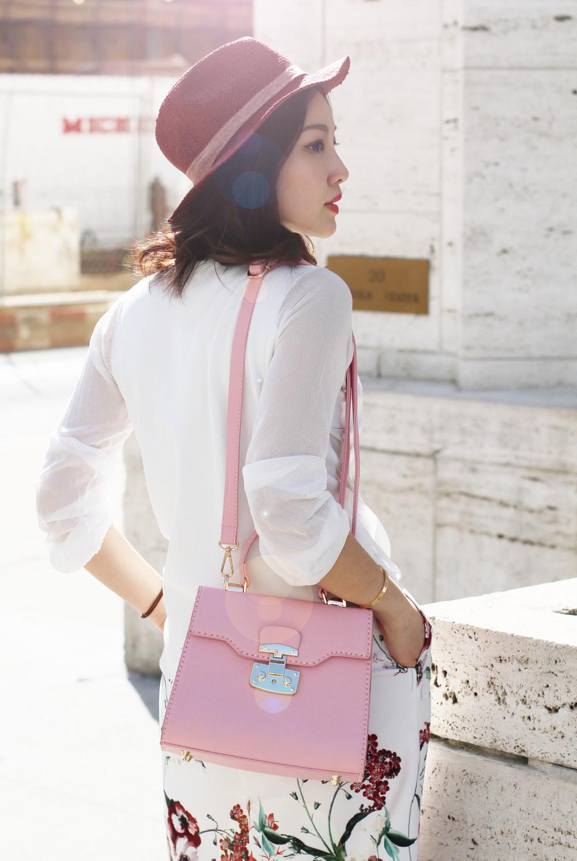 Pink floral outfit MsLittlesbag.jpg