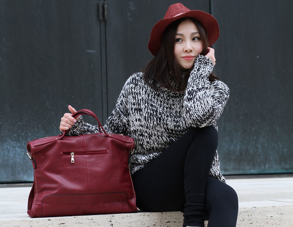 review Red suede leather tote.jpg